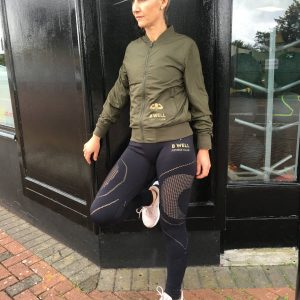 B Well Fitness Bomber Jacket